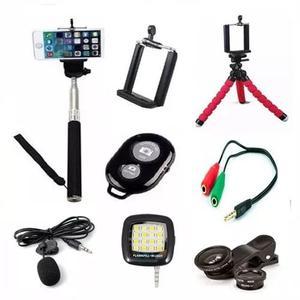 Kit Youtuber Mini Completo (08 Itens) - Gravação Celular
