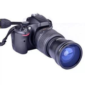 Lente Fisheye Olho De Peixe 0.21x + Macro +12,5 Canon Nikon