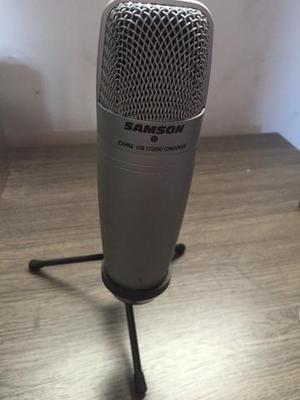 Microfone Samson c01u USB STUDIO CONDENSER