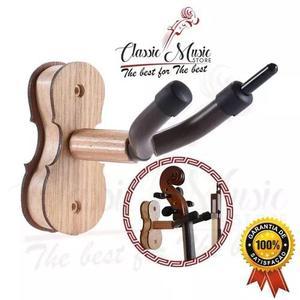 Suporte De Parede Para Violino E Arco,viola,ukulele