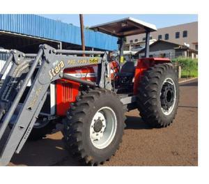 Trator Massey Ferguson 292 4x4 ano 2001 lamina e concha