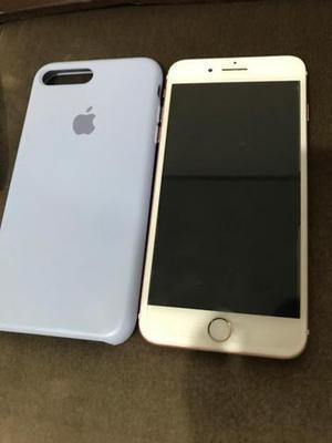 VENDO OU TROCO iPhone 7 Plus rose pelo iphone 7