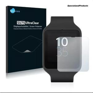 2 Películas Protetoras Savvies® Sony Smartwatch 3 Sw3