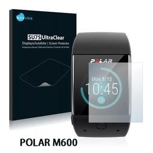 2x Películas Protetoras Savvies® Para Polar M600 Baixou...