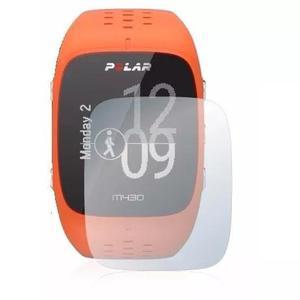 2x Películas Protetoras Savvies® Para Relógio Polar M430