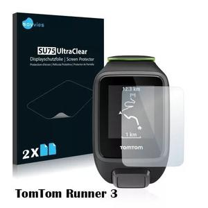 2x Películas Silicone Savvies® Tomtom Runner 3
