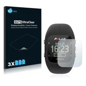 3x Películas Protetoras Savvies® Para Relógio Polar A300