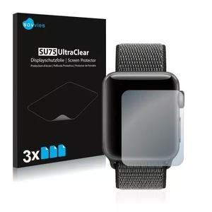 3x Películas Savvies® Para Apple Watch Series 3 (42mm)