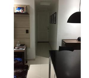 Apartamento 2 qtos, dependência com elevador J.G.