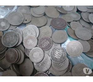 COMPRO MOEDAS DE NÍQUEL DE  A . PAGO R$100 O