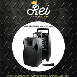 Caixa de som amplificada SP219 com 150W/RMS REAL com