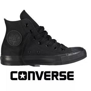Tênis converse all-star botinha rock monochrome preto 2cf1bd88d9d5f