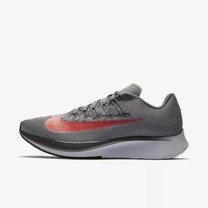 Tênis Nike Zoom Fly 2018 Running Corrida Cinza Original