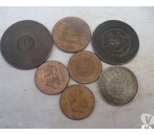 COMPRO MOEDAS DE BRONZE ANTES DE 1900 PAGO R$150 O QUILO