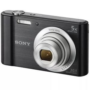 Camera Sony W800 Cor Preta 20 Mp Zoom 5x ***nova*** Na Caixa