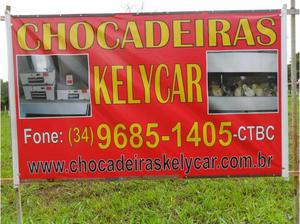 Chocadeiras Kelycar 130 ovos Promoção de NATAL