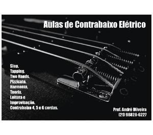 Curso de Contrabaixo Elétrico. Zona Sul - RJ