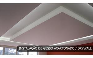 Instalação de divisórias e teto em Drywall em São paulo