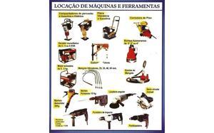 Josmak Locação de Máquinas e Ferramentas Elétricas