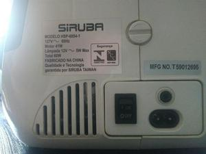 Maquina de costura SirubaHSP6854