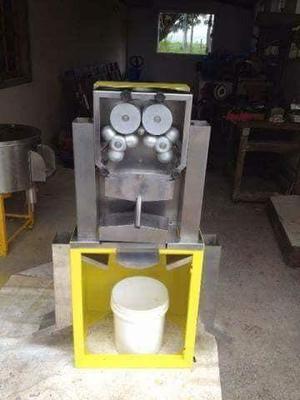 Maquina de gelo extratora de suco e maquina descascadora de