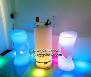 Mobiliário para eventos luz conduzida da decoração