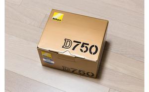 Nikon d750 dslr camera novo nunca usado