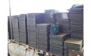 Paletes para blocos de concreto