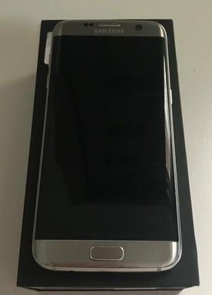 Samsung Galaxy S7 Edge com caixa e todos acessórios, não