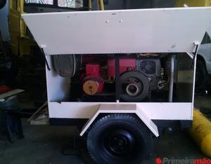 Grupo Gerador Energia Diesel 9 Kva Trifásico Part. Elétric