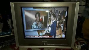 TV Samsung 21 polegadas tela plana