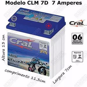 Bateria Cral Twister250 Falcon Cb300 Fazer250