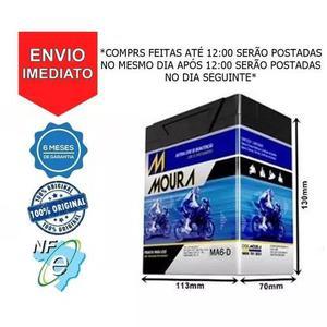 Bateria Moura Ma6-d Fazer 250 Yamaha