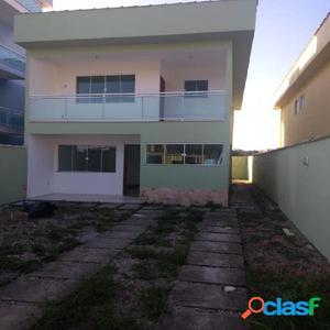 Belo Duplex 3 Quartos - Novo Rio das Ostras - Casa Duplex