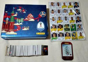 Box Premium Album da Copa do Mundo 2018 Completo