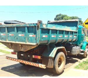 Caminhão MB 1113 7171 - Caçamba Toco com Clientela