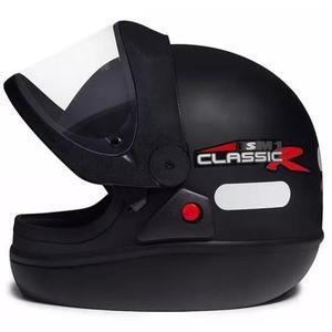 1a382d5974496 Capacete san marino classic preto fosco original automático