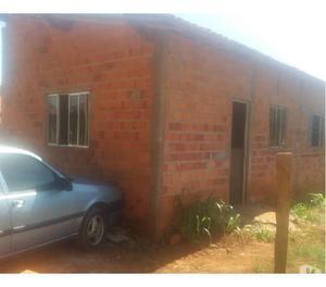 Casa de 3 cômodos em Cesário Lange, em fase de acabamento
