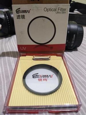 Filtro Eirmai UV 58mm Para Nikon Canon Sony e Outras Marcas