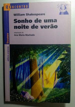Livro Sonho De Uma Noite De Verão - Usado