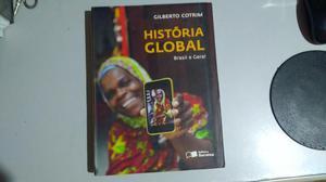 Livro história global, Brasil e geral de Gilberto Cotrim