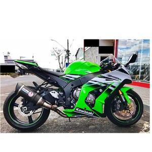 Moto Ninja Zx 10r Kawasaki Verde Ano 2015 Único Dono