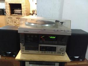 Receiver toca discos tape deck Gradiente
