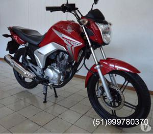 TITAN 150 EX FLEX 2014 VERMELHA ÚNICA DONA (IGUAL A ZERO)