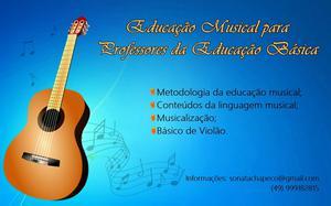 Curso de Educação Musical para Professores da Educação
