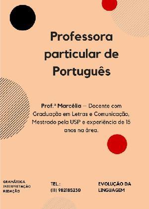 Aulas Particulares de Português - São Paulo - SP