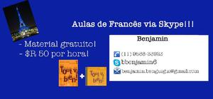 Aulas de francês online