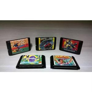 Cartuchos Mega Drive - Sega Genesis - Fitas 100 % - Anos 90