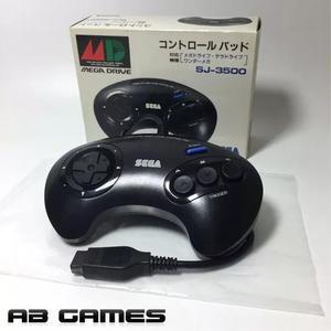 Controle De 3 Botões Mega Drive Sj-3500 S