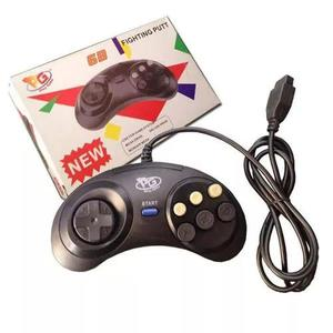 Controle Mega Drive 1,2 E 3 Novo 6 Botões Pronta Entrega
